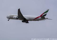 A6-EFK (20) (Christoffer Andersen) Tags: emirates emiratesskycargo boeing b777 b777200 b777f osl osloairportgardermoen oslo cargoplanes cargoplane airplane