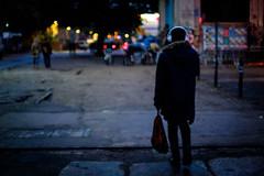 289/366 - Zeitgeist / Spirit Of Time (Boris Thaser) Tags: 365 366 32 abend abenddmmerung bauestunde berlin creativecommons deutschland dmmerung erwachsener explore farbe flanieren flickr fujixt1 fujifilmxt1 gehen germany kopfhrer mann menschen morgendmmerung nacht ohrhrer project365 projekt querformat schlendern schrfentiefe spazieren stadt strae straenfotografie streetphotography szene tasche tiefenschrfe unschrfe adult bag blur candid city color dawn depthoffield dof dusk earphones eve evening headphones landscapeformat man night people photoaday pictureaday project project366 scene street streettog strolling tog twilight ungestellt unposed walking zweisichtde zweisichtig
