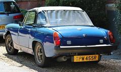 TPW 455R (Nivek.Old.Gold) Tags: 1977 mg midget 1500 numbersup