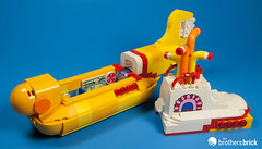 21306 The Beatles Yellow Submarine (The Brothers Brick) Tags: lego 21306 beatles yellow submarine ideas 2016