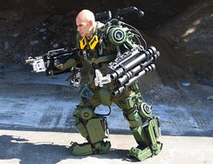 Brooklyn Exo Soldier (Brooklyn RobotWorks) Tags: peterkokis brooklyn sunsetpark brooklynrobotworks exoskeleton exosuit edgeoftomorrow tomcruise mimic emilyblunt dougliman butterworth soldier marine army war nude naked love gun guns rocket exosoldier nixed nycc comiccon nycomiccon