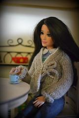 Raquelle (pe.kalina) Tags: barbie dolls doll dollhouse coffe diorama roombox dream house fashionistas raquelle mattel miniature