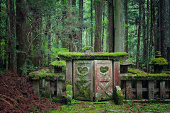 transience (ThomasMueller.Photography) Tags: asia asien buddhism buddhismus decay forest frieden grabmal green grn heilig holy japan japanese japanisch koyasan moos moss natur nature nihon nippon peace reisen stein stone tomb travel verfall wald wood