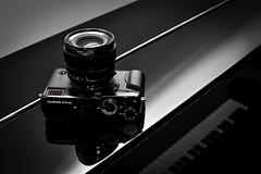 Black Magic (Boxertrixter) Tags: fujifilm fujixpro2 nikond700 compactsystemcamera dslr nikkor50mmf14d reflections