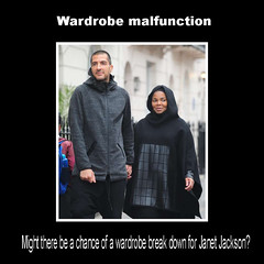 Wardrobe malfunction (Golfeser) Tags: wardrobemalfunction janetjackson breakdown fashion street walk sidewalk