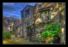 An Uncertain Future (Kevin, (Away 21 Oct / 9 Nov) Traveling) Tags: 12thcentury architecture building canon1100d canon1855mm chapel church clitheroe england hdr historical kevinwalker lancashire medieval sky whalleyabbey