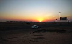 Sunset above the desert (2), UAE /    (2),  (Irina.yaNeya) Tags: sunset sunsetabovethedesert desert uae sand puestadesol desierto eau