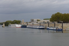 A-Rosa Stella , AmaCello , Provence and Anne-Marie in Arles (neiljennings51) Tags: amacello river cruise arles ship boat rhone apt