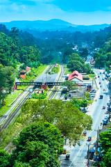 Kadugannawa (kasun_ranaweera) Tags: srilanka morning train nature nikon town hillcountry hills central kandy tower d3200 kitlense 1855mm