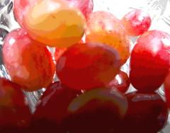 Red Seedless Grapes  in a Crystal Bowl   HMM (Rene' Slack) Tags: macromondays backlit slackadventure shiraz