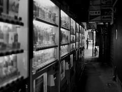 VM_1270795 (strange_hair) Tags: vending machine vm blackwhite street tokyo ginza japan