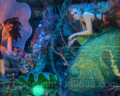 """""""Lights Up a Young Mind"""" Bloomingdales Holiday Window Display, New York City (jag9889) Tags: windowdisplay jag9889 usa color manhattan bloomingdales newyork outdoor 2016 christmas holiday light uppereastside mannequin woman newyorkcity window artwork neon display 20161128 art chandelier bloomies departmentstore flagship lexingtonavenue ny nyc store storewindow ues unitedstates unitedstatesofamerica us water gift"""