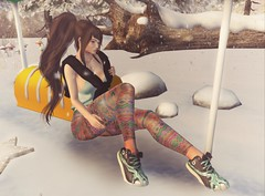 851  (BillitaUnderZone) Tags: 187 woh2 i taketomi k enigmaapparel girl snow secondlife virtual newreleases hunt winter sl