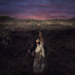surrender (brookeshaden) Tags: brookeshaden fineartphotography bookcover darkart halfunderground