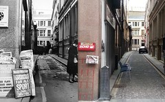 Sweeting Street, 1966 and 2016 (Keithjones84) Tags: liverpool oldliverpool merseyside thenandnow history localhistory rephotography