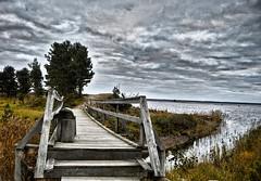 IMG_20161017_230522 (jen_peltonen) Tags: bridge ocean nature finland autumn hdr photo