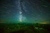 Night Vision (DeviantOptiks) Tags: northernlights nightphotography longexposure startrails stars space galaxy milkyway banffnationalpark valleyofthetenpeaks mountains canadianrockies green nightscape astrophotography nightsky
