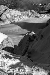 161173  The Dachstein glacier (bellodis) Tags: dariobellodisphotography mountainlandscapes 2016 alpi alps bw dachstein fujifilmgear fujixt2 ramsau verticalformat fujinon1024f4 ghiacciaio glacier montagna mountain neve snow wwwbellodiscom