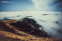 Monte Grappa (Antonio DP) Tags: montain cloud montagna nuvole autumn winter dicembre december vista landscape