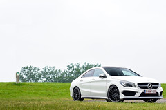 Mercedes-Benz CLA 45 AMG C117 (Tony, M.) Tags: mercedesbenz cla 45 amg c117 kamperland the netherlands white tony mullié