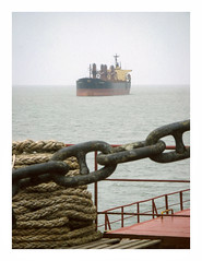 IMG_5957 (jimbonzo079) Tags: mp panamax 6 bay bengal india asia powershot a710is mv anchorage bulk carrier bulker cargo greek hellas marine maritime naval utm work industry industrial trip travel world view vintage old film effect digital compact art photoshop deck steel life crane colour color lightroom vsco 2015 canon ocean sea water weather ship vessel boat onboard chain