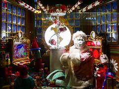 "Macy's Holiday Windows - ""Santa"" (Stuart Fujiyama) Tags: illinois chicago macys state street holiday windows"