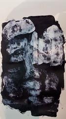 wenn wir nicht wren wer lebte unsere Leben (raumoberbayern) Tags: black white painting malerei robbbilder sketchbook skizzenbuch acrylic acryl portrait print druck