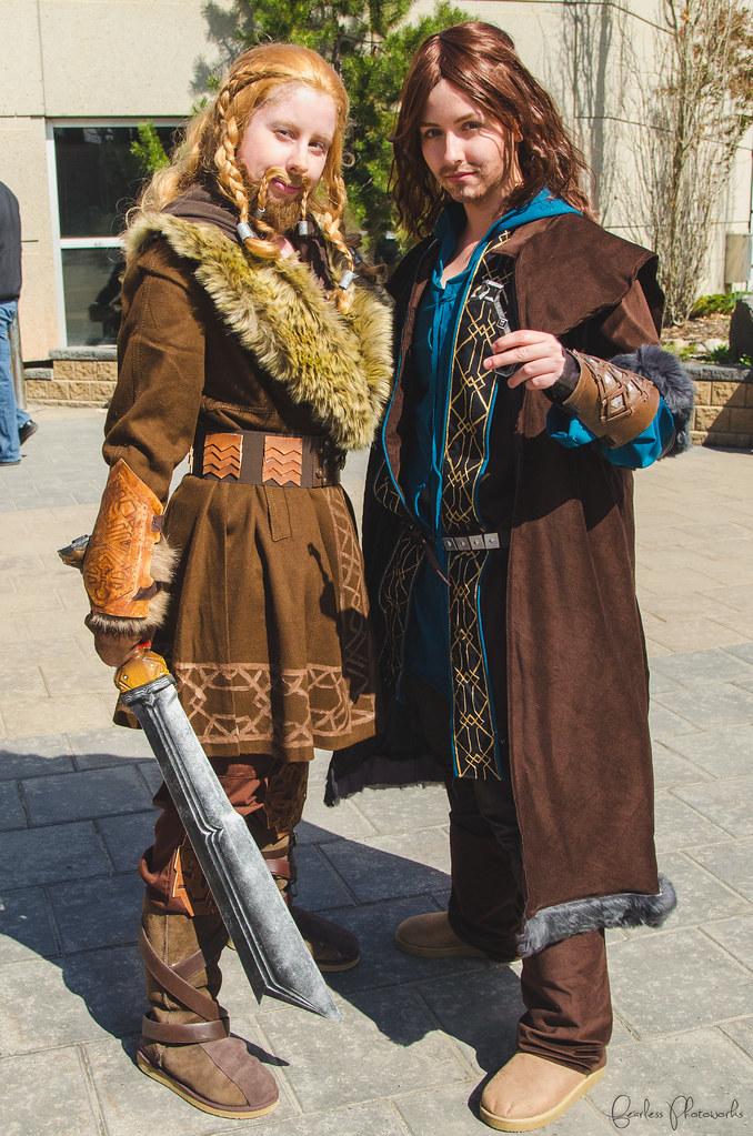 kili Tauriel cosplay and