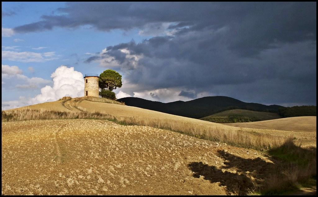 Tuscan Landscape - Bibbona, il vecchio mulino (robertar.) Tags ...
