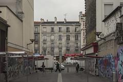 . (Le Cercle Rouge) Tags: aubervilliers france humans graffs graffitis flop tags painters market march marathonwalk rueernestprvost
