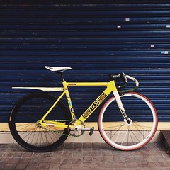 #SKuNK_Taiwan #frame #fixedgear #fixie #pista #trackbike #bike #bicycle #taipei #taiwan #cycle # # #commuter #biketowork #bike2work #singlespeed #campagnolo #crank #taxi # # # (funkyruru) Tags: skunktaiwan frame fixedgear fixie pista trackbike bike bicycle taipei taiwan cycle   commuter biketowork bike2work singlespeed campagnolo crank taxi