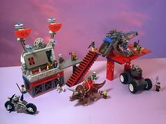 De Futura - Diorama (Crimso Giger) Tags: lego defutura scifi postapocalypse postapoc diorama moc