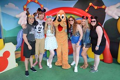 Florida 2016 (Elysia in Wonderland) Tags: disney world orlando florida holiday 2016 elysia hollywood studios pluto character meet greet lucy amy pete clinton becca