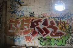 Derk (NJphotograffer) Tags: graffiti graff new jersey nj newark abandoned building urban explore derk hsc crew