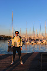 Port de Barcelona (Salvawixo) Tags: portrait retrato canon eos t5i rebel diary amateur eurotrip europe barcelone barcelona espaa spain fashion