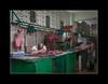 Meat market (tkimages2011) Tags: meat market havana habana shop worker work food green people cuba hook meathook rest sleep shopkeeper offal hygiene signs
