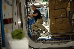 Shane Kimbrough (Thomas Pesquet) Tags: shane kimbrough nasa astronaut iss microgravity space