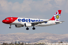 HB-IHY - Edelweiss Air - Airbus A320-214 (5B-DUS) Tags: airbusa320 edelweissair hbswitzerland hbihy planes edelweiss air airbus a320214 a320 320 lca lclk larnaca larnaka international airport airplane aircraft aviation airlines cyprus flughafen flugzeug plane planespotting spotting