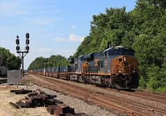 Q034 Doswell (Fr8engineer) Tags: csx gevo railfan railroad es44 rfp intermodal
