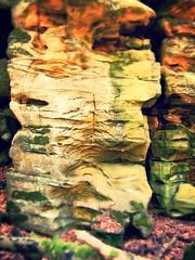 Erosion: Gro- und Kleinformen (Basinbah) Tags: geotagged wasserfall erosion cascade sandstein felsen teufelsschlucht irrel geo:lon=644051710 geo:lat=4984621223