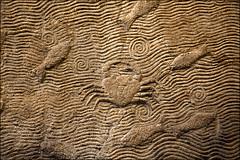 Interior wall, Palace of King Sennacherib, Nineveh, Northern Iraq, Assyrian (laheringer) Tags: england london unitedkingdom carving britishmuseum mesopotamia assyrian kingsennacherib stolenantiquity