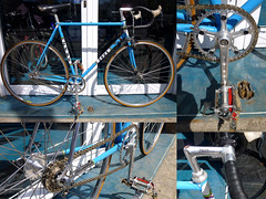 conversion-zeus-to-fixie (taller bicicle - barcelona) Tags: barcelona bike carretera bicicleta zeus restored fixie fixedgear restauracion tallerbicicle