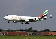 OO-THD (Kok Vermeulen) Tags: cargo emirates boeing b747 eham b747400erf b744 skycargo oothd rwy36r