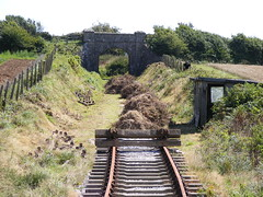 End Of The Line (realales109) Tags: bridge overgrown work for this is small lot railway location line southern just short end older beyond quite plans 13 current helston terminus the required newer halt extend heavily of truthall
