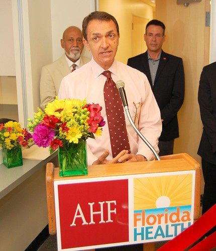AHF Broward Wellness Center Ribbon Cutting (8/26/13)