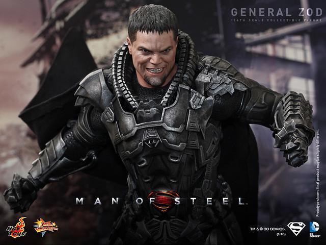 Hot Toys – MMS216 – 超人:鋼鐵英雄 – 薩德將軍 1/6 人偶