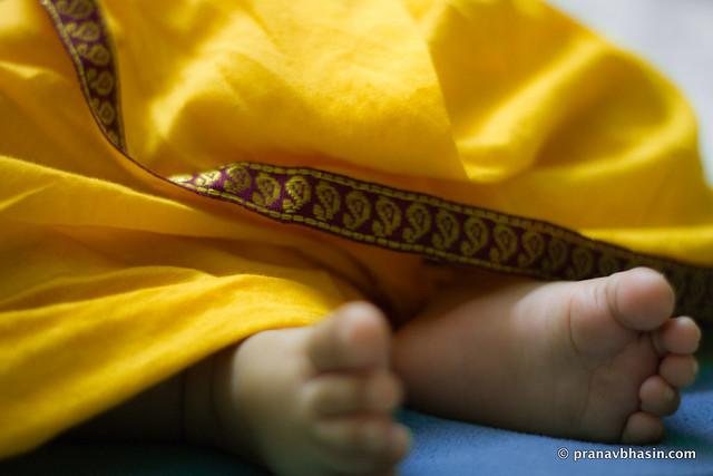 Baby Feet Bokeh