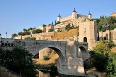 Puente de Alcntara (J-Fish) Tags: bridge spain europe unescoworldheritagesite unesco toledo tagusriver romanbridge puentedealcntara alczaroftoledo d300s 1685mmf3556gvr 1685mmvr