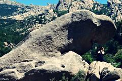 (MeZ) Tags: madrid naturaleza nature rock place think pensar roca pedriza rincn mezu syba