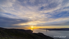 Morning Clouds - San Francisco bay